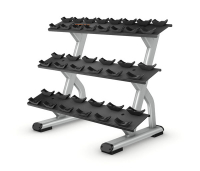 PRECOR Discovery 3-TeirDumbbell Rack – 10 pair DBR814