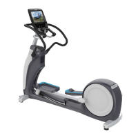PRECOR Experience Series Elliptical Fitness Crosstrainer™  EFX 883 V2