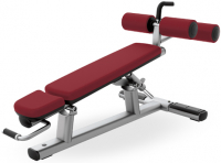 LIFE FITNESS Signature Bench-Rack Adjustable Decline/Abdominal Bench SADB