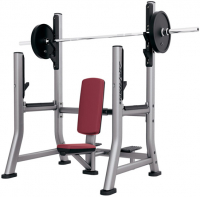 LIFE FITNESS Signature Bench-Rack Olympic Military Bench SOMB