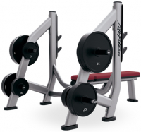 LIFE FITNESS Signature Bench-Rack Olympic Bench Weight Storage SOBWS
