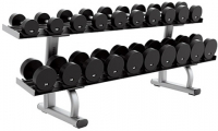 LIFE FITNESS Signature Bench-Rack Two Tier Dumbbell Rack SDR2