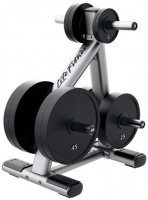 LIFE FITNESS Signature Bench-Rack Olympic Weight Tree SOWT