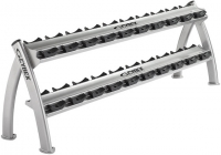 CYBEX Twin Tier Dumbbell Rack 16250