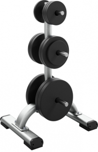 PRECOR Discovery Series Plate Loaded Line Weight Plate Tree 817 s