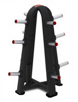 STAR TRAC Inspiration Series Olympic Weight Tree 4 Sided With olympic bar holder 9IP-R7513