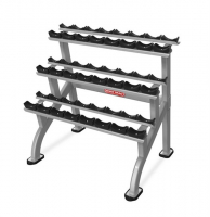 STAR TRAC Inspiration Series Beauty Bell Rack 3 Tier 9IP-R8014